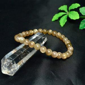 アフリカ産 サンストーン ブレスレット パワーストーン 天然石 ゆうパケット不可 ccr