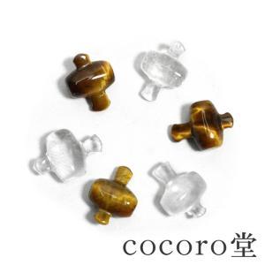 パワーストーン 置き物 願いを叶える・伝説の小槌 打出の小槌 水晶 タイガーアイ 2種 お守り 天然石|ccr