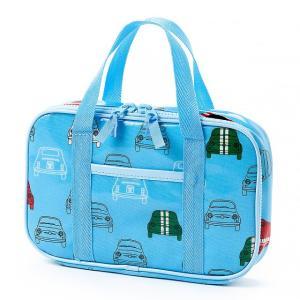 スマートに持ち運べるお洒落な撥水ラミネート裁縫バッグ。針や小物も整理整頓、しっかり収納できます。オー...