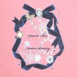 Tシャツ(半袖) dressy round ribbon|ccstyle|02