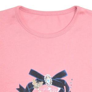Tシャツ(半袖) dressy round ribbon|ccstyle|03
