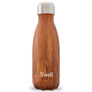 Swell ウッド 260ml ステンレスボトル ボトル 水...