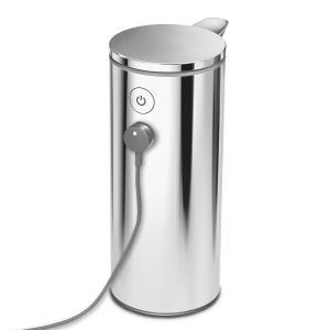 simplehuman USB充電式センサーポンプディスペンサー ソープボトル 詰め替え用ボトル シンプルヒューマン 正規品 メーカー保証付き ST1044 ポリッシュドシルバー cdf 04