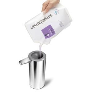 simplehuman USB充電式センサーポンプディスペンサー ソープボトル 詰め替え用ボトル シンプルヒューマン 正規品 メーカー保証付き ST1044 ポリッシュドシルバー cdf 05