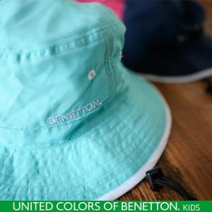 BENETTON UV マリンハット キッズ 子供 首回りガード付き 帽子 ハット|cdmcloset