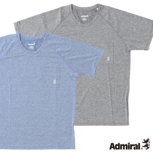 Admiral 杢染めUV半袖ラッシュガード UPF50+ メンズ水着|cdmcloset