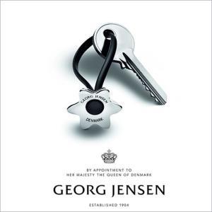 Georg Jensen ジョージ ジェンセン フラワー キーリング(3584868) cds-r
