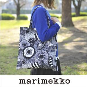 marimekko SIIRTOLAPUUTARHA トートバッグ(エコバッグ)/ホワイト×ブラック 99(190)【67810】 マリメッコ ピエニ シイルトラプータルハ cds-r