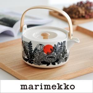 marimekko SIIRTOLAPUUTARHA ティーポット/絵柄2【67846】90(092)マリメッコ|cds-r