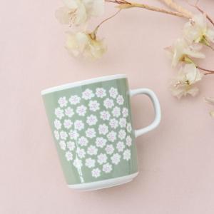 marimekko PUKETTI マグカップ【68354】82(850)ベージュ マリメッコ プケッティ|cds-r