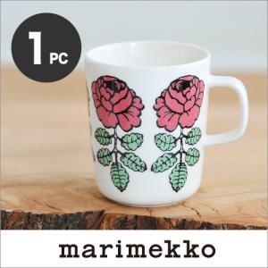 【セール50%OFF】marimekko VIHKIRUUSU マグカップ /ローズピンク 単品 76【68411】マリメッコ