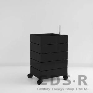 MAGIS(マジス)360°コンテナー /5段 (H72) ブラック|cds-r