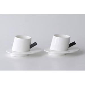 ALESSI アレッシィ PRESTO モカカップ&ソーサー 2客セット DCM01SET|cds-r