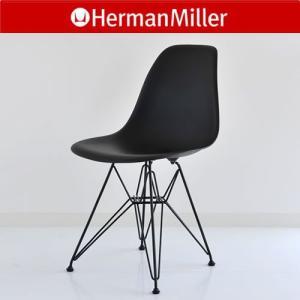 EB-0 Herman Miller イームズ シェルサイドチェア DSR/ブラック(ベース:ブラック)ハーマンミラー/Eames Shell Side Chairs cds-r