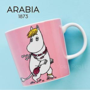 iittala ARABIA イッタラ アラビア Moomin ムーミン マグカップ/フローレン|cds-r
