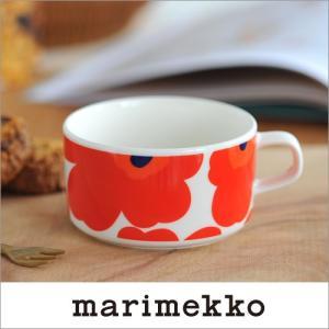 marimekko OIVA/UNIKKO ティーカップ/レッド 75(001)【63430】マリメッコ オイバ ウニッコ _dp15|cds-r