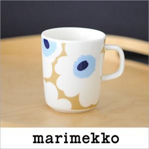 【クリアランスセール30%OFF】marimekko UNIKKO マグカップ/84(815) ベージュ×ホワイト【63431】マリメッコ ウニッコ