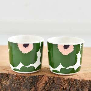 「国内正規販売店」 大人気マリメッコの持ち手がないラテマグタイプのカップです。UNIKKO柄に待望の...