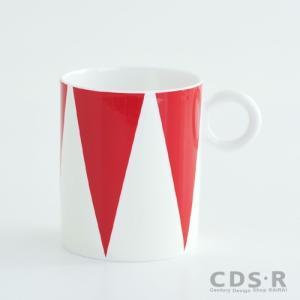 ALESSI アレッシィ CIRCUS MUG マグカップ(三角模様) MW58 2 _2016fw|cds-r