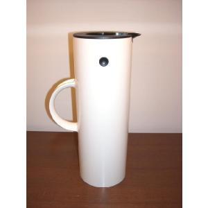 魔法瓶バキュームジャグ STELTON CLASSICホワイト|cecicela