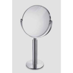 拡大鏡つきが便利!ステンレス製スタンドミラー FELICE 40114  ZACK|cecicela