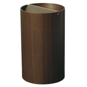 蓋付きゴミ箱 ウォルナットwood WN954A cecicela