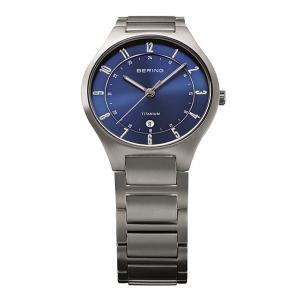 BERING腕時計 ベーリングリストウォッチ  メンズ  Link Titanium 11739-707|cecicela