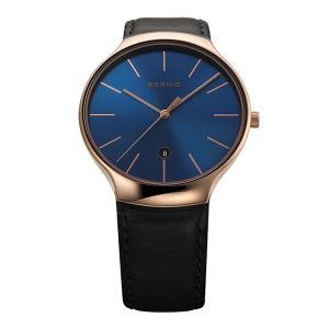 腕時計 ベーリングリストウォッチ  メンズ BERING Mens Classic Infinity Pair Collection 13338-467|cecicela