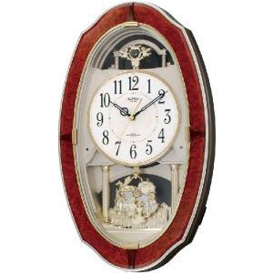 アミュージングクロック電波時計 スモールワールドM483 4MN483RH23 シチズン時計