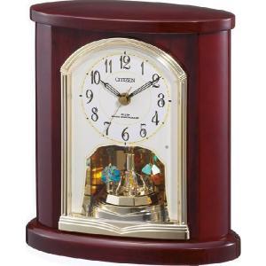 置き時計 パルロワイエR681SR 4RY681SR06 リズム時計 シチズン時計|cecicela