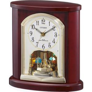 置き時計 4RY681-N06 シチズン時計  ウッド テーブルクロック|cecicela