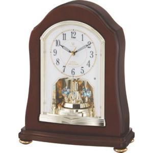 置き時計 回転飾り ハイクオリティーコレクション RHG-S53 リズム時計 4RY688HG06 送料無料|cecicela