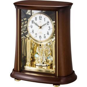 置き時計 回転飾り ハイクオリティーコレクション RHG-S68 リズム時計 4RY699HG06 送料無料|cecicela