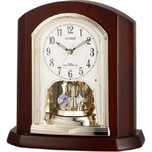 置き時計 パルロワイエR702SR 4RY702SR06  リズム時計 シチズン時計|cecicela