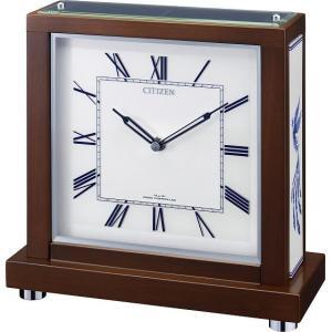 鳳凰柄 シチズン置き時計 4RY713-006 記念品 ギフト 名入れ 送料無料|cecicela