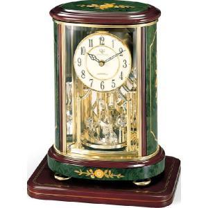 置き時計 象嵌細工 イタリアン ハイクオリティーコレクション RHG-R56 リズム時計 4SG702HG05 送料無料|cecicela