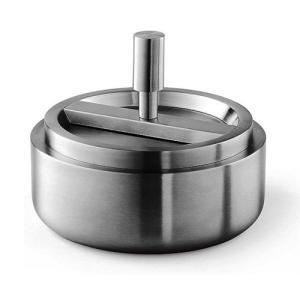 ZACK ステンレス製リボルビング灰皿 CONTAS ZACK 50163|cecicela