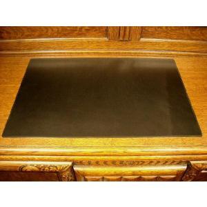 レザーデスクマット イタリアンレザー ブラック|cecicela