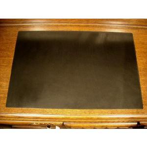レザーデスクマット イタリアンレザー ブラック|cecicela|02