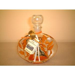 香りのフラワーオイルランプ ピーチOSタイプ |cecicela