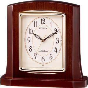 置き時計 パルロワイエR406SR  8RY406SR06 リズム時計 シチズン時計|cecicela