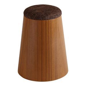 MOLDED PLYWOOD STOOL チーク木目wood 903ST φ18(φ25.5)×33 椅子 スツール|cecicela