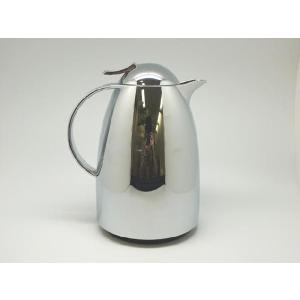 emsaエムザ バキュームジャグ魔法瓶 AUBERGE(オウバージュ) クローム 1.00L ドイツ製 cecicela