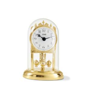 置き時計 AMS アームス 回転振り子 アニバーサリークロック 1101 送料無料|cecicela