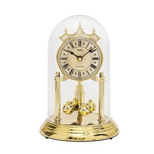 ガラスドームがお洒落です!AMS報時振り子置き時計 1204 アニバーサリークロック 送料無料|cecicela