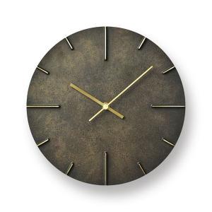 Lemnos レムノス掛け時計  Quaint   クエィント 真鍮 斑紋黒染色 AZ15-06BK|cecicela