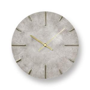Lemnos レムノス掛け時計  Quaint  クエィント 真鍮 斑紋純銀色 AZ15-06SL|cecicela