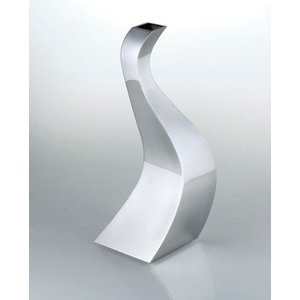 Vase ステンレスフラワーベース SALUS FB-06 花瓶 cecicela