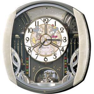 からくり時計 壁掛け時計 ディズニータイム FW563A セイコー  SEIKO電波時計 送料無料 ギフト お洒落 名入れ 掛け時計|cecicela