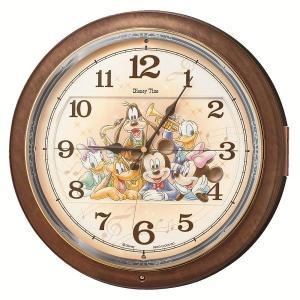 からくり時計 壁掛け時計 ディズニータイム FW587B セイコー SEIKO電波時計 送料無料 ギフト お洒落 名入れ 掛け時計|cecicela